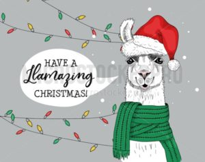 Have amazing and joyful christmas greeting card - Vector illustrations for everyone | Microstocker.Pro