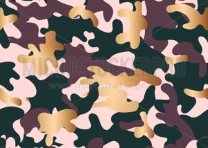 Militaristic warfare camouflage seamless pattern - Vector illustrations for everyone | Microstocker.Pro