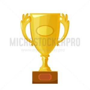Trophy cup icon - Vector illustrations for everyone | Microstocker.Pro