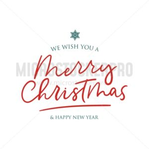 We wish you Merry Christmas and Happy New Year - Vector illustrations for everyone | Microstocker.Pro